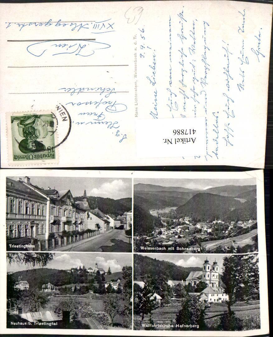 417886,Weissenbach An D. Triesting Totale Neuhaus