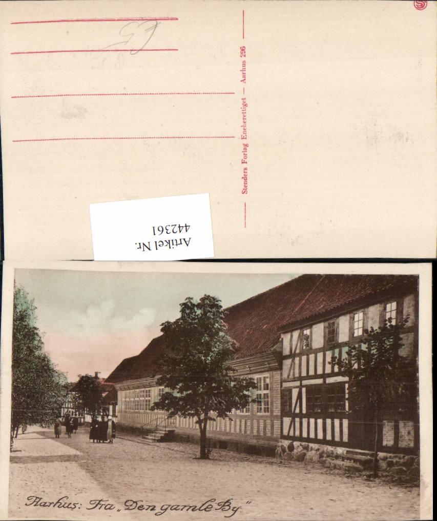 442361 denmark aarhus frau den gamle by haus geb ude ansichtskarten europa ansichtskarten. Black Bedroom Furniture Sets. Home Design Ideas