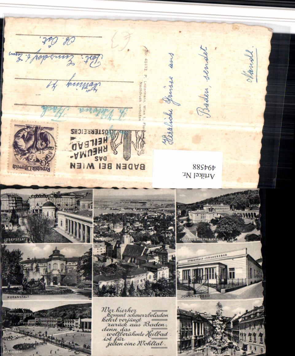 494588,Baden Totale Josefsplatz Kurhaus Strandbad