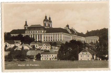 1415 Markt St Florian Bei Linz Asten Um 1950