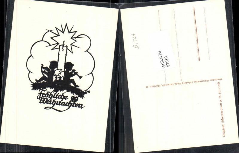 97010 scherenschnitt silhouette weihnachten engel harfe for Scherenschnitt weihnachten