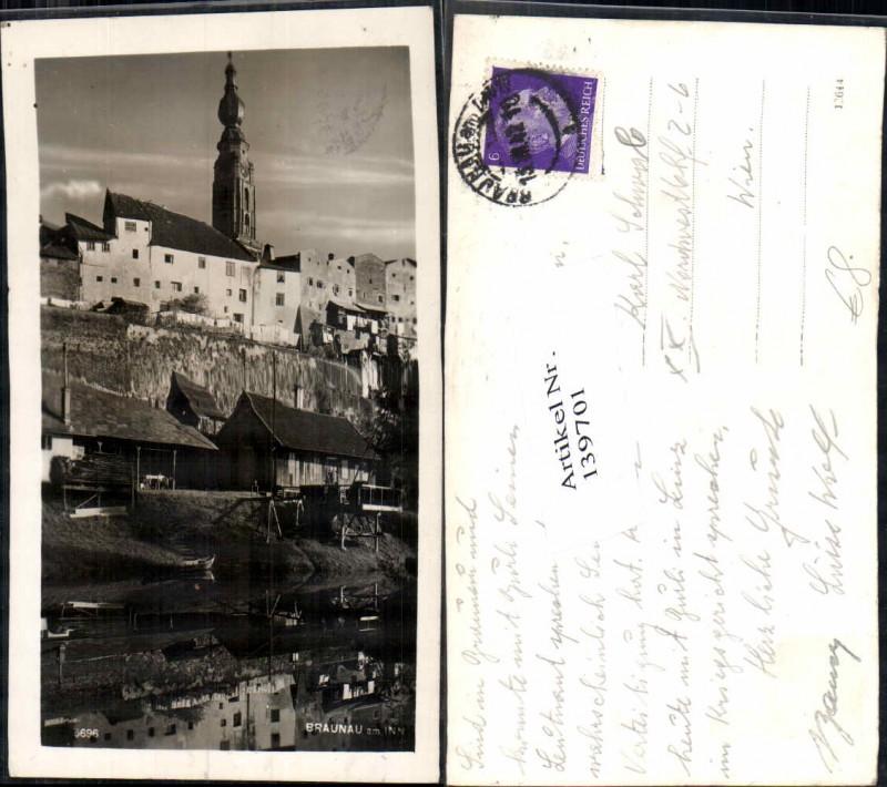 139701,Braunau Am Inn Ufer Häuser Ansichtskarten