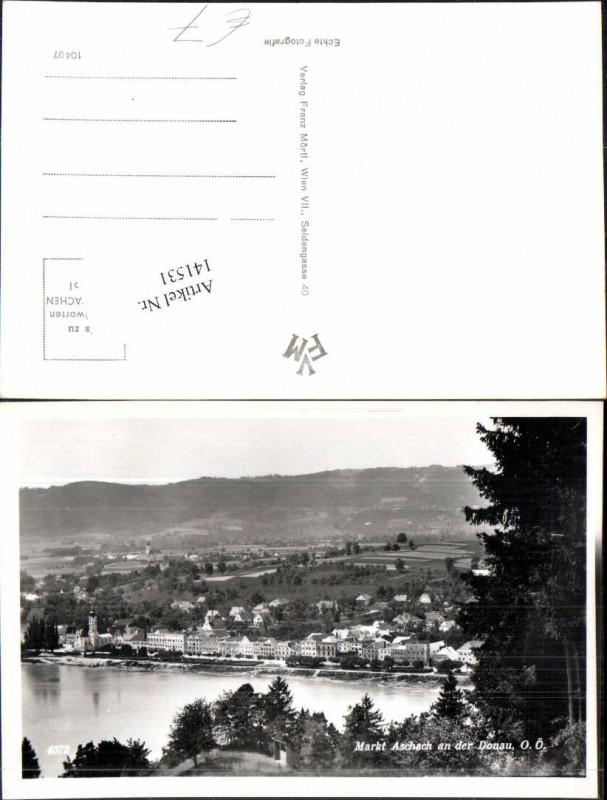 141531 markt aschach a d donau 1950 ansichtskarten for Stadelmann eferding