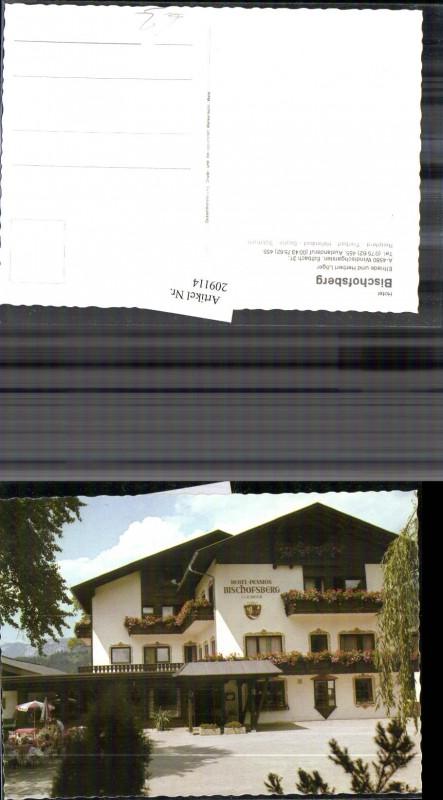 209114 Hotel Bischofsberg B Windischgarsten Inh L 246 Ger