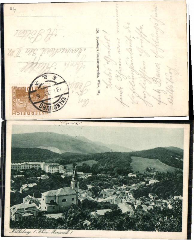 69502,Kalksburg Klein Mariazell Bei Wien 1930
