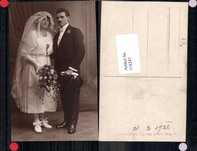 118247,FotoAK Hochzeitspaar Braut Brautkleid Kleid Hochzeitskleid ...